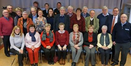 Bezoek aan de seniorenraad in Oostende op 19 maart 2018
